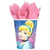 Cinderella Hot/Cold Cups (8/pkg)