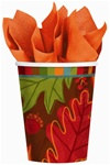 Falling Foliage Hot/Cold Cups (8/pkg)