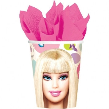 Barbie Hot/Cold Cups (8/pkg)