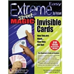 The Magic Invisible Cards will impress and amaze your friends as they watch the cards turn blank! This one deck of magic cards comes with instructions to perform 20 different tricks! The perfect accessory for the beginner magician!