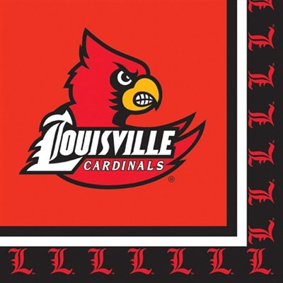 University of Louisville Lunch Napkins (20/pkg)