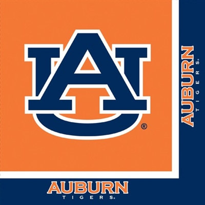 University of Auburn Lunch Napkins (20/pkg)