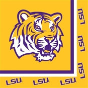 Louisiana State University Lunch Napkins (20/pkg)