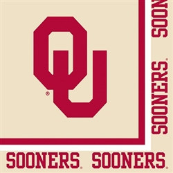 University of Oklahoma Lunch Napkins (20/pkg)