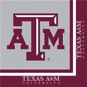 Texas A & M Lunch Napkins (20/pkg)