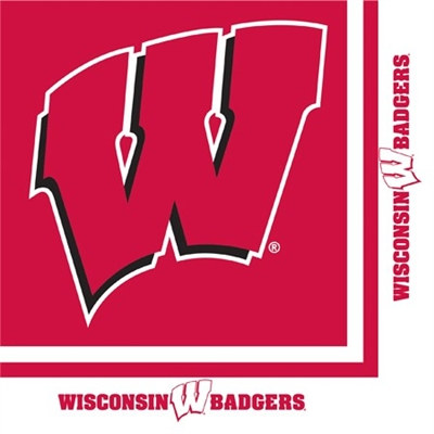University of Wisconsin Lunch Napkins (20/pkg)