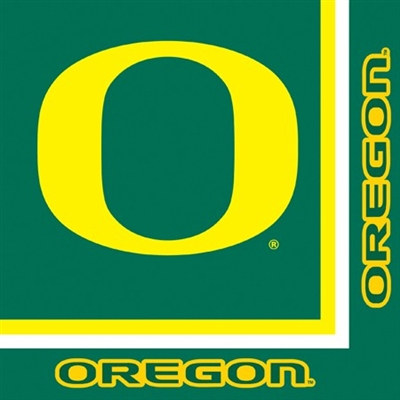 University of Oregon Lunch Napkins (20/pkg)