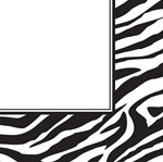 Zebra Print Lunch Napkins (16/pkg)