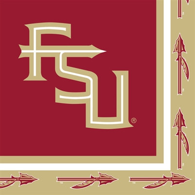 Florida State University fans will love these napkins. These Florida State University Lunch Napkins are perfect for any occasion, whether throwing a big party of just watching the latest game with friends.