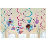 Doc McStuffins Foil Swirl Decorations