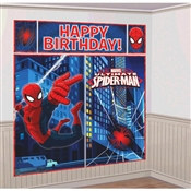 Spider-man Scene Setter Wall Decal Kit