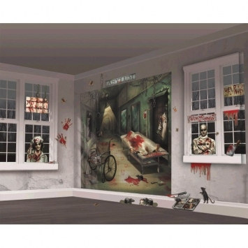 Insane Asylum Scene Setter Decorating Kit