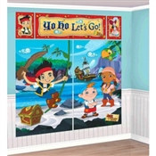 Jake and the Neverland Pirates Scene Setter Wall Dec Kit