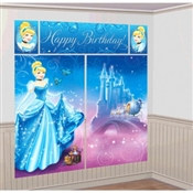 Cinderella Scene Setter Wall Dec Kit
