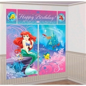 Little Mermaid Scene Setter Wall Dec Kit