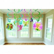 Tinker Bell Value Pack Foil Swirl Decorations (6/pkg)