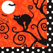 Frightfully Fancy Beverage Napkins (36/pkg)