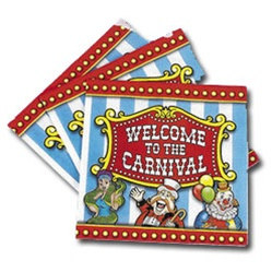 Big Top Circus Lunch Napkins (16/pkg)