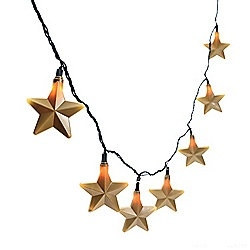 Gold Star String Lights