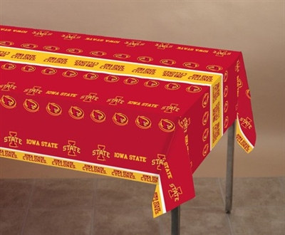 Iowa State University Plastic Tablecover
