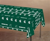 Michigan State University Plastic Tablecover