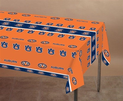University of Auburn Plastic Tablecover