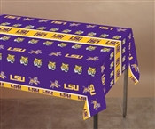 Louisiana State University Plastic Tablecover