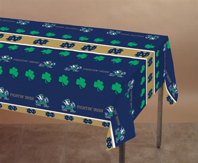 University of Notre Dame Plastic Tablecover