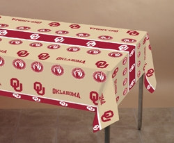 University of Oklahoma Plastic Tablecover