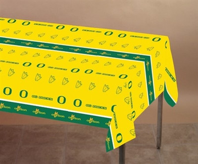 University of Oregon Plastic Tablecover