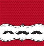 Mustache Madness Tablecover