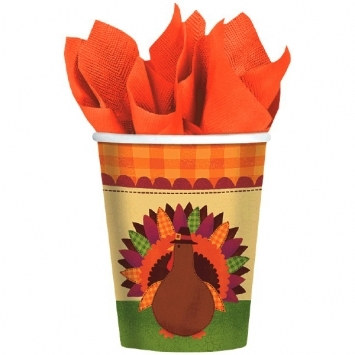 Turkey Dinner Hot/Cold Cups (18/pkg)