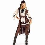 Adult Caribbean Pirate Babe Costume