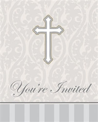 Cross Invitations (8/pkg)
