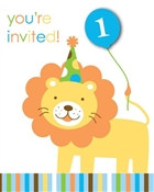 Boy Sweet At One Invitations (8/pkg)