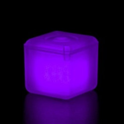 Purple Glowing Ice Cube (1/pkg)
