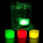 Assorted Glowing Ice Cubes (3/pkg)
