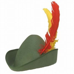 Deluxe Alpine Hat with Quill