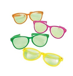 Jumbo Clown Glasses