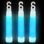 Choose Blue or pick your favorite color and get a package of (12) 4-inch glow sticks. Each glow stick comes with a separate string so you can hang them or wear them as a necklace. Simple snap the stick to activate the glow.