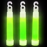 Choose Green or pick your favorite color and get a package of (12) 4-inch glow sticks. Each glow stick comes with a separate string so you can hang them or wear them as a necklace. Simple snap the stick to activate the glow.