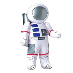 You can't possibly go into outer space alone, so make sure you have this Inflatable Astronaut at the party! Once inflated, the astronaut will measure 23 inches tall and you'll get to see how authentic the spacesuit looks! Comes one per package.
