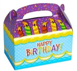 Happy Birthday Treat Boxes (12/pkg)
