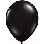 Black latex balloons, when fully inflated measure eleven inches. Perfect for practically any theme, these balloons comes 25 per package.