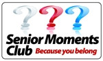 Senior Moments Club Plastic Pocket Card (1/Pkg)