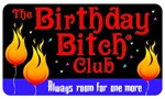 The Birthday Bitch Club Plastic Pocket Card (1/Pkg)