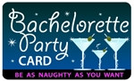 Bachelorette Party Plastic Pocket Card (1/Pkg)