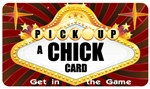 Pick Up A Chick Plastic Pocket Card (1/Pkg)