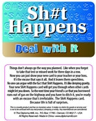 Sh#T Happens Pocket Card