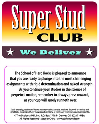 Super Stud Club Pocket Cards